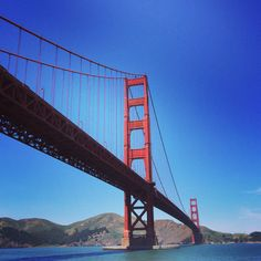 Golden Gate Bridge. #redlipcrew #sanfrancisco #SFO #travel #tourism #california #architecture
