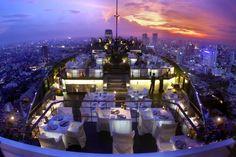 BANGKOK | Rooftop bar Vertigo at Banyan Tree Bangkok, Thailand | via cntraveller.com