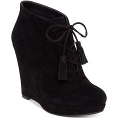 c0cc3656d27 Jessica Simpson Cyntia Lace-Up Wedge Booties (4