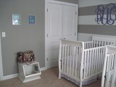 Our nursery :) Cribs, Fiction, Nursery, Bed, Furniture, Home Decor, Room Ideas, Cots, Decoration Home