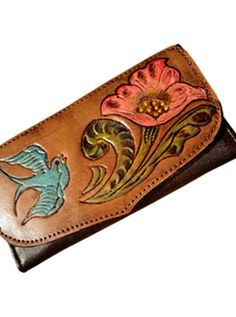 Love Tooled Leather Bags