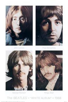 The Beatles White Album collage