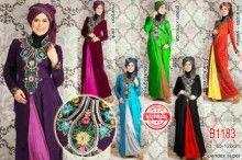 Kaftan Maxi Cantik | Grosir Baju Muslim Terbaru