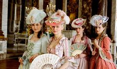 Marie Antoinette.  Love the costumes!