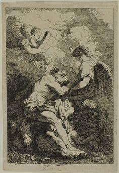 Jean Honoré Fragonard (French, 1732-1806) after Johann Liss (German, c. 1585/1600–1631) Saint Jerome, c. 1761/65 Art Institute Chicago