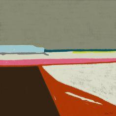 """Saatchi Online Artist Octave Pixel; Digital, """"Landscape of sea in Bretagne - tableau moderne 3360"""" #art"""