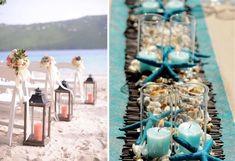 trouwen strand decoratie.