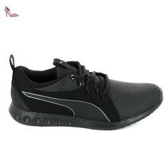 Blaze Ignite Plus, Sneakers Basses Mixte Adulte, Noir Black-Barbados Cherry Black 01, 45 EUPuma