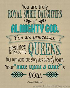 lds young women | once upon a time # princess # lds # mormon
