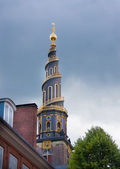 Copenhagen, Denmark. If you want to get the best view, then you will climb 400 stairs up the spire on top of Our Savior Church, where you will appreciate a wonderful view of the harbour and the oldest part of the City.