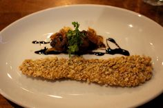 We sampled a delicious plate of herring at Hotel du Vin Bistro in Edinburgh. @Eat walk Edinburgh @This is Edinburgh @The City of Edinburgh Council