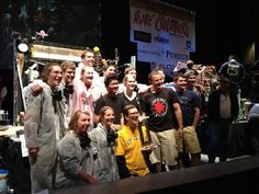 The winning team for the 2012 Rube Goldberg Machine Contest, St. Olaf. Awesome machine! Photo by David Fox (me!)
