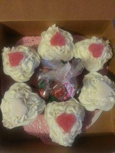 Red velvet love and hearts cupcakes https://www.facebook.com/sweetlittlekakes