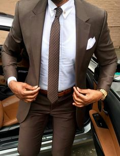 Mens suits combinations brown suit combinations best brown suits ideas on brown suit brown color combinations . Mens Fashion Suits, Mens Suits, Suit For Men, Fashion Menswear, Terno Slim, Fashion Mode, Fashion Trends, Luxury Fashion, Fall Fashion