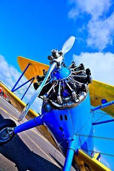 The Boeing Stearman Biplane