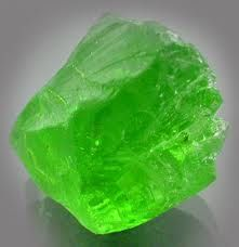 Raw Peridot...it almost glows!                                                                                                                                                                                 More