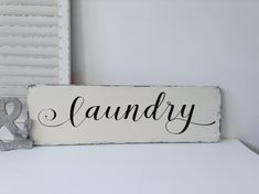 Laundry Signs Wood Laundry Sign Laundry Room Sign by WoodFinds