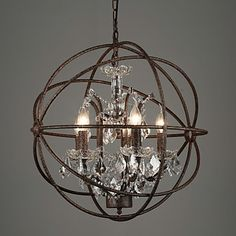 Chandeliers Crystal Traditional/Classic Bedroom / Dining Room / Entry / Hallway Metal 2016 - $317.99