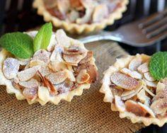Tartaletas de pera
