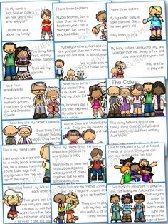 The eBook content is:  ★ Nuclear family ★ Multiple siblings ★ Only child ★ Twins ★ Teenagers ★ Divorced family ★ Single parents ★ Remarried parents ★ Same-sex family ★ Bi-racial family ★ Adoption ★ Transgender ★ Disabled (wheelchair) ★ Loss of parent ★ Support for diversity  The diversity represented in this eBook is great for class discussion, reflection and most importantly: learning that although diverse, everyone is equal. The portrayal of diversity in this book is to the point and…