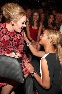 Adele and Beyonce