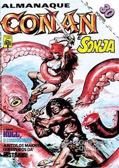 Almanaque Conan, O Bárbaro 1ª Série - n° 3/Abril | Guia dos Quadrinhos
