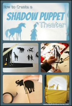 How to Stage a Shadow Puppet Show Your Kids Will Love | #MyKidsAdventures