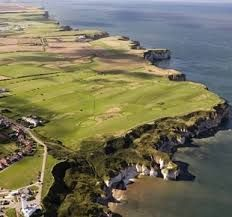 Image result for flamborough cliffs historical Dirt Cheap, Crashing Waves, Taylormade, Golf Ball, Golf Clubs, Golf Courses, Soundtrack, Water, Coast