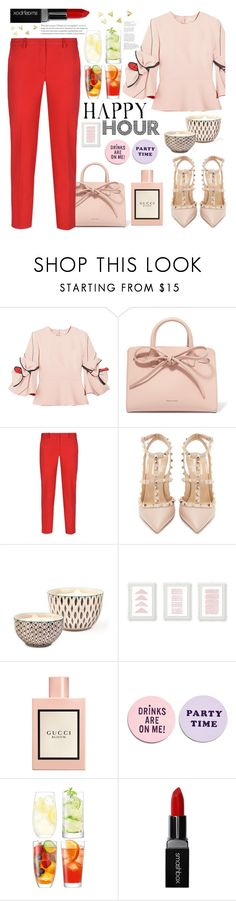"""""""Untitled #265"""" by j4wahir ❤ liked on Polyvore featuring Roksanda, Mansur Gavriel, Armani Jeans, Valentino, Bambeco, Gucci, ban.do, LSA International, Smashbox and contestentry"""