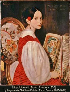 Artist: Auguste de Chatillon - all paintings from this artist available as fine art prints, canvas prints, paper prints or hand painted oils. Victor Hugo, Fine Art Prints, Canvas Prints, Woman Reading, Reading Art, Auguste, Book People, Book Of Hours, Pre Raphaelite