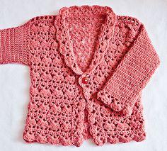 Ravelry: Harriet Lace Cardigan pattern by Mon Petit Violon $4.99