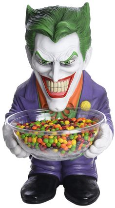 Batman: The Joker Candy Bowl Holder $22.13