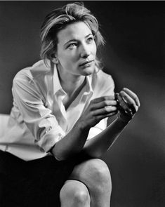 Minimal + Classic: cate blanchet by bruce weber