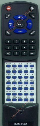 SAMSUNG Replacement Remote Control for 00034H, AK5900034H, DVDVR320 by Redi-Remote. $39.95. This is a custom built replacement remote made by Redi Remote for the SAMSUNG remote control number AK5900034H. *This is NOT an original  remote control. It is a custom replacement remote made by Redi-Remote*  This remote control is specifically designed to be compatible with the following models of SAMSUNG units:   00034H, AK5900034H, DVDVR320  *If you have any concerns with the...