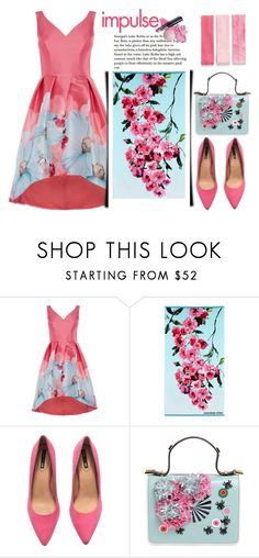 """Impulse: Floral Moments"" by emcf3548 ❤ liked on Polyvore featuring Designers Guild, H&M, Giancarlo Petriglia and Berry"