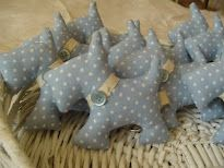scotty dog softies from Coccinelle Pazze