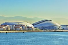 Olympic stadium in Sochi by Populous