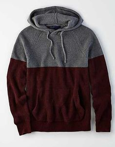 Discover an extensive selection of men's sweaters at American Eagle Outfitters. The best pieces for layering up this fall are here in a vareity of styles from V-neck sweaters to cool cardigans. Men's Sweaters, Cardigans, Boho Man, Casual Shirts For Men, Men Casual, Man Closet, Baja Hoodie, Mens Outfitters, Hoodies