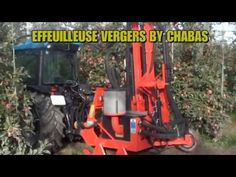 Effeuilleuse pneumatique vergers CHABAS - SIVAL innovation 2019 #InfoWebVitivinicole Innovation, Falling Leaves