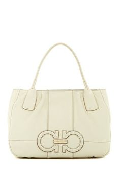 Salvatore Ferragamo Leather Tote by Non Specific on @HauteLook