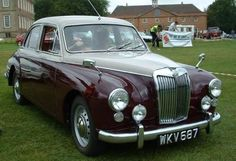 MG ZB Magnette -- I want this car