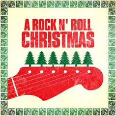 Christmas Music (rock 'n' roll edition) Christmas Rock, Christmas Music, Retro Christmas, Holiday Fun, Christmas Time, Christmas Stuff, Rock N Roll, Rockabilly, Christmas Door Decorating Contest