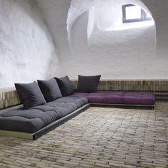 Canapé design Tatami Caroki avec futon matelas -  just the mattress...