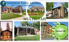 Investment Reality advisors specialize in all aspects of property investment. Be it Utah County or Salt Lake County, our property manager possess years of expertise in real estate domain. No matter, you are looking to buy, rent or sell your property, we can help fulfill all your desires related to property investment.
