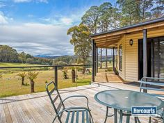 Deck with a view: 350 Loongana Road, South Nietta, Tas 7315