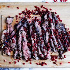 Pomegranate Flank Steak  Recipe on Food52 recipe on Food52
