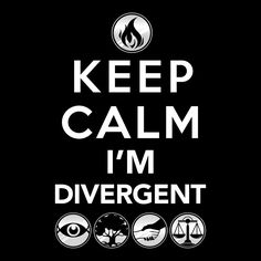 Keep Calm I'm Divergent (Hoodie)
