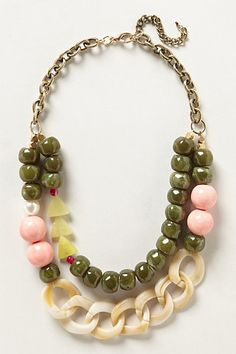 Shake & Stir Necklace #anthropologie