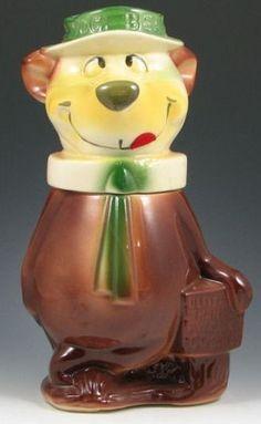 1961 Yogi Bear Cookie Jar - yes he is awesome