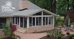 Sun Porch, Aluminum Sunrooms, Vinyl Sunrooms | Patio Enclosures